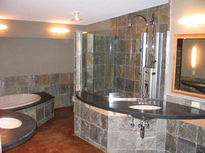 Dakota remodeling for Slate bathroom design